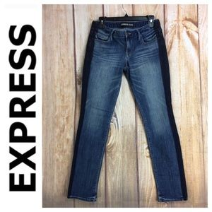 ➡️Express Jeans Stella Low Rise Skinny Ankle Sz 6R
